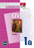 JUEGOS JURÍDICOS. DERECHO CIVIL IV: FAMILIA Nº 1A (EBOOK)