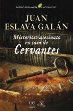 Misterioso asesinato en casa de Cervantes: Premio Primavera de Novela 2015