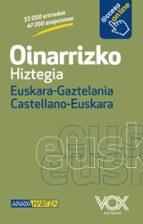 OINARRIZKO HIZTEGIA EUSKARA-GAZTELANIA/CASTELLANO-EUSKERA