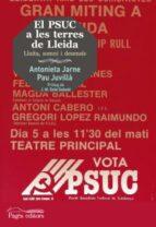 PSUC a les terres de Lleida 1936-1986, El (Guimet)