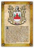 APELLIDO ABILLAR / ORIGEN, HISTORIA Y HERÁLDICA DE LOS LINAJES Y APELLIDOS ESPAÑOLES E HISPANOAMERICANOS (EBOOK)