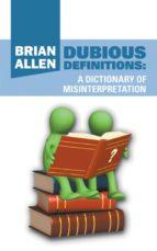 DUBIOUS DEFINITIONS (EBOOK)
