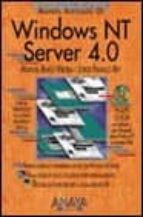 WINDOWS NT SERVER 4,0 (MANUALES AVANZADOS) (INCLUYE CD ROM)