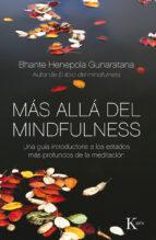 Más Allá Del Mindfulness (Sabiduría perenne)