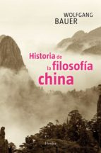HISTORIA DE LA FILOSOFÍA CHINA (EBOOK)