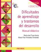 DIFICULTADES DE APRENDIZAJE Y TRASTORNOS DEL DESARROLLO: MANUAL D IDACTICO