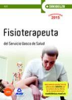 Test - fisioterapeuta - osakidetza - servicio Vasco de salud (Osakidetza 2015)