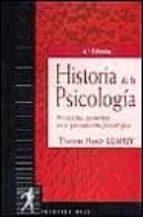 HISTORIA DE LA PSICOLOGIA: CORRIENTES PRINCIPALES DEL PENSAMIENTO PSICOLOGICO