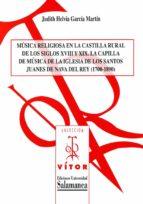 MÚSICA RELIGIOSA EN LA CASTILLA RURAL DE LOS SIGLOS XVIII Y XIX (EBOOK)