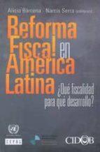Reforma fiscal en América Latina (Fudacion Cidob (bellaterra)