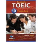 succeed in toeic - 10 practice tests - cds-9781904663973