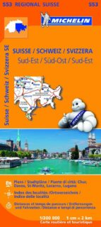 mapa regional suisse sud est/ schweiz sud ost/ svizzera sud est ( leyenda en español) (2013) 9782067183773