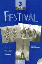 methode de francais: festival 3: cahier d exercices 9782090353273