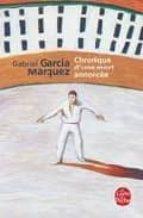 chronique d une mort annoncee-gabriel garcia marquez-9782253043973