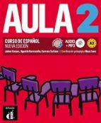 aula 2 libro del alumno + cd nueva edicion (curso de español)-9788415640073