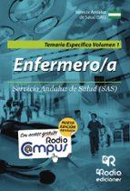 ENFERMERO-A DEL SAS. TEMARIO ESPECÍFICO VOLUMEN 1