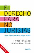 el derecho para no juristas-alfred font barrot-jose luis perez triviño-9788423426973