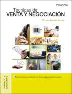 tecnicas de venta y negociacion maria jose escudero serrano 9788428337373