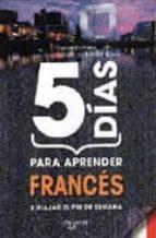 5 dias para aprender frances-marion bernard-9788431539573