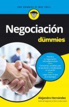 negociación para dummies (ebook)-alejandro hernandez-9788432901973