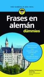 frases en alemán para dummies-paulina christensen-anne fox-9788432903373
