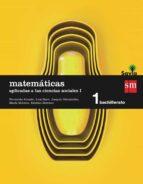 matemáticas ii 1º bachillerato (aplicadas a las ccss) savia ed 20 15-9788467576573