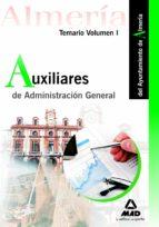 AUXILIARES DE ADMINISTRACIÓN GENERAL DEL AYUNTAMIENTO DE ALMERÍA.