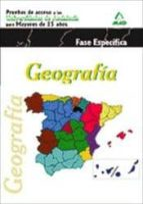 geografia prueba especial para mayores de 25 años andalucia 9788467667073