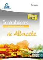 CONTROLADORES DEL AYUNTAMIENTO DE ALBACETE. TEMARIO