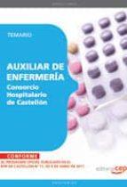 AUXILIAR DE ENFERMERIA CONSORCIO HOSPITALARIO DE CASTELLON. TEMAR IO