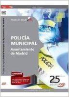 POLICÍA MUNICIPAL AYUNTAMIENTO DE MADRID. PRUEBA DE INGLÉS