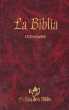 la biblia (letra grande)-9788481694673