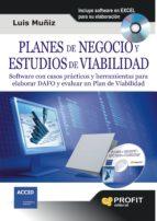 planes de negocio y estudios de viabilidad-luis muñiz-9788492956173