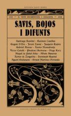 savis, bojos i difunts-9788494780073