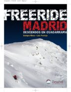 freeride madrid: descensos en guadarrama enrique rivas 9788498291773