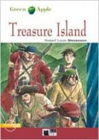 treasure island + cd (black cat green apple) robert louis stevenson 9788877549273