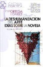 deshumanización del arte. Ideas sobre la novela, La (CASTALIA DIDÁCTICA. C/D.)