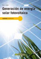 Generación de Energía Solar Fotovoltaica