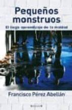 PEQUEÑOS MONSTRUOS. EL LARGO APRENDIZAJE DE LA MALDAD (CRONICA ACTUAL)