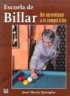 Escuela De Billar. Del Aprendizaje A La Competición