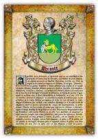 APELLIDO ABRANTE / ORIGEN, HISTORIA Y HERÁLDICA DE LOSLINAJES Y APELLIDOS ESPAÑOLES E HISPANOAMERICANOS (EBOOK)