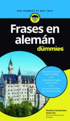 FRASES EN ALEMÁN PARA DUMMIES (EBOOK)