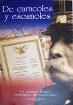 DE CARACOLES Y ESCAMOLES (EBOOK)