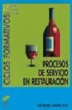 PROCESOS DE SERVICIO EN RESTAURACION