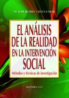 EL ANÁLISIS DE LA REALIDAD EN INTERVENCION SOCIAL (EBOOK)