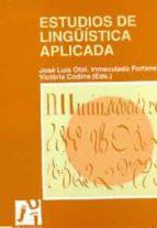 ESTUDIOS DE LINGUISTICA APLICADA