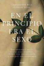 EN EL PRINCIPIO ERA EL SEXO (EBOOK)