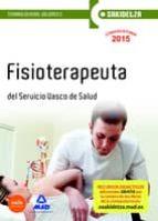 Temario II - fisioterapeuta - osakidetza - servicio Vasco de salud (Osakidetza 2015)