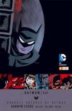 Grandes Autores Batman Darwyn Cooke: Batman Ego