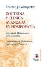 DOCTRINA Y CLINICA AVANZADA EN HOMEOPATIA (EBOOK)